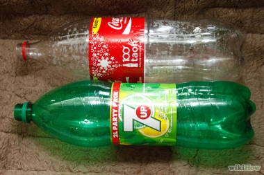 empty soda bottles